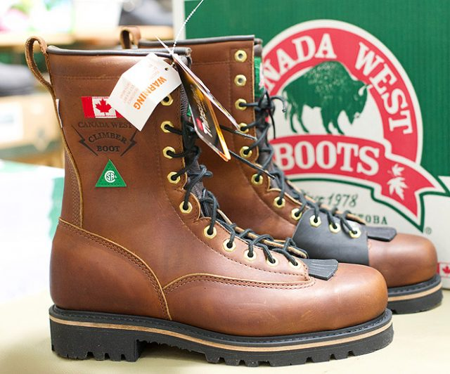 Men's Canada West Lace Work Boots