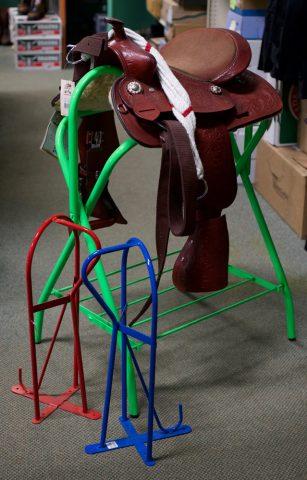 saddle racks and stand