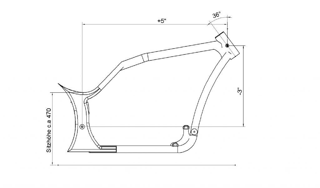Custom Frames for Harley-Davidson Twin Cam & Evo by