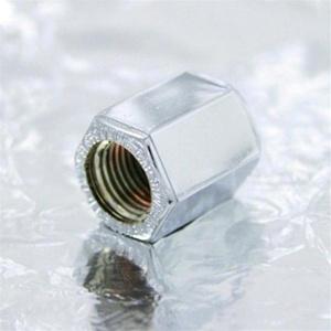 valve stem cap close-up
