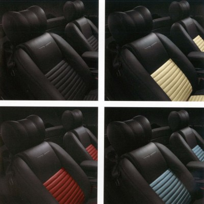 (4) 2002 T-Bird seat color options