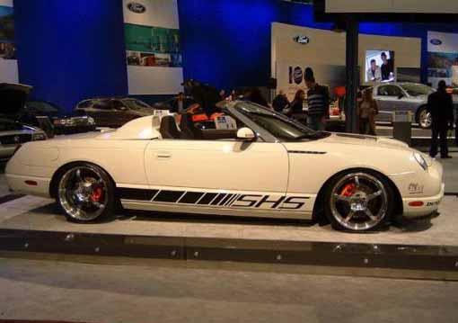 2002 Custom Thunderbird Show Cars
