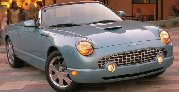 2002 Ford Thunderbird.