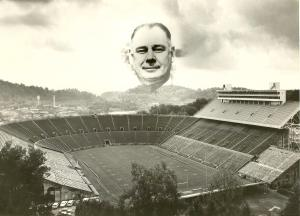 Photo of Neyland Stadium some time in 1962 or 1963   Photo by Knoxnews.com