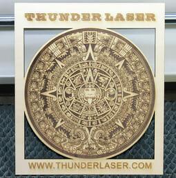 thunder laser 3d engraving