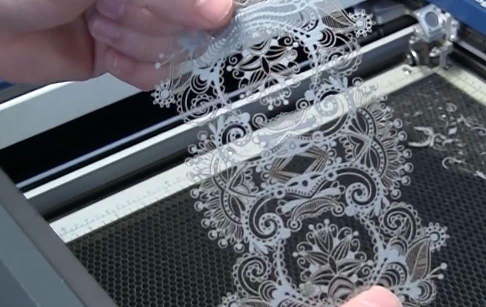 laser cutting textiles