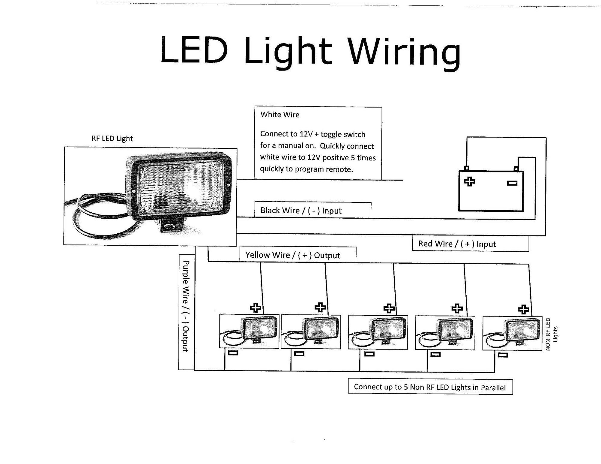 hight resolution of trailer work lights thunderstone manufacturing llcthunderstone led trailer light wiring diagram reverse reverse trailer wiring diagram led lights