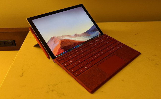 Microsoft Surface Pro 7 Review Thurrott