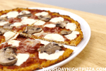 Gluten-Free Cauliflower Pizza Crust