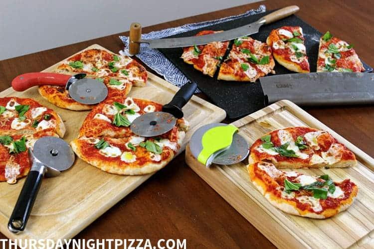 Pizza cutter choices