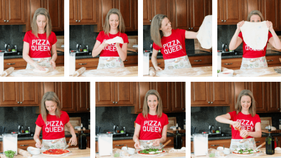 Pizza basics: Stretching and topping homemade pizza dough