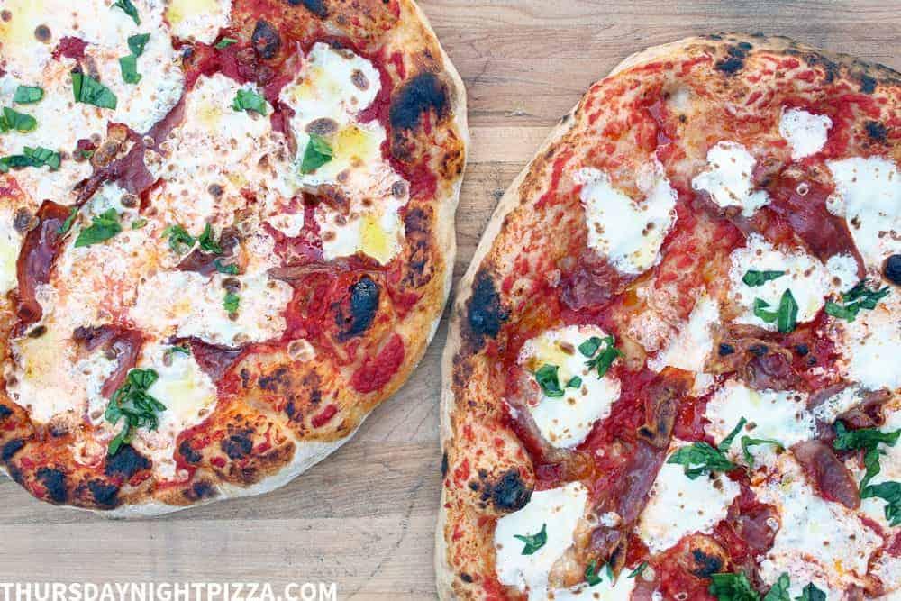 Neapolitan Margherita Pizzas