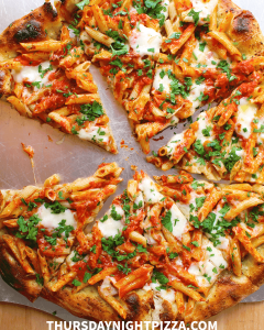 penne pizza