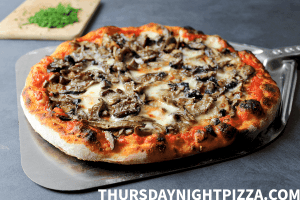 The Ultimate Mushroom Pizza Recipe
