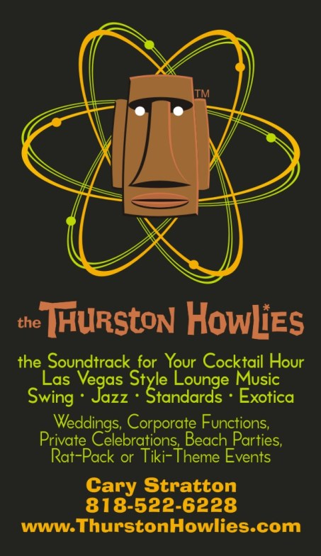 Thurston Howlies Business card