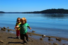Frye Cove park is a hidden gem on the Steamboat Island peninsula.