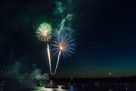 Boston Harbor Fireworks 7