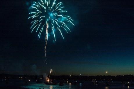 Boston harbor Fireworks 8