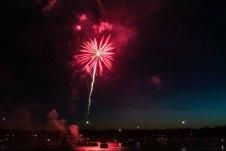 Boston harbor fireworks 9