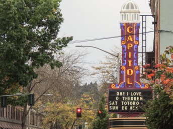 The historic Capitol Theater hosts many shows throughout the year.
