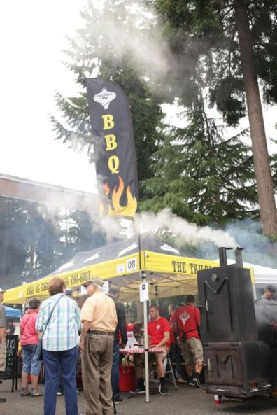 Smokey and delicious smells will be the stars at the South Sound BBQ Festival. Photo credit: Shanna Paxton.