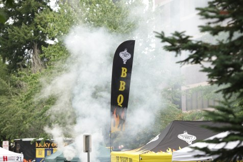 Smoke, heat and meat are magical together at the South Sound BBQ Festival. Photo credit: Shanna Paxton.