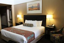 Rooms are available with king and double queen bed configurations. Photo courtesy: Prairie Hotel