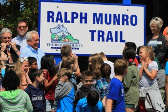Ralph Munro Trail Dedication sign 1