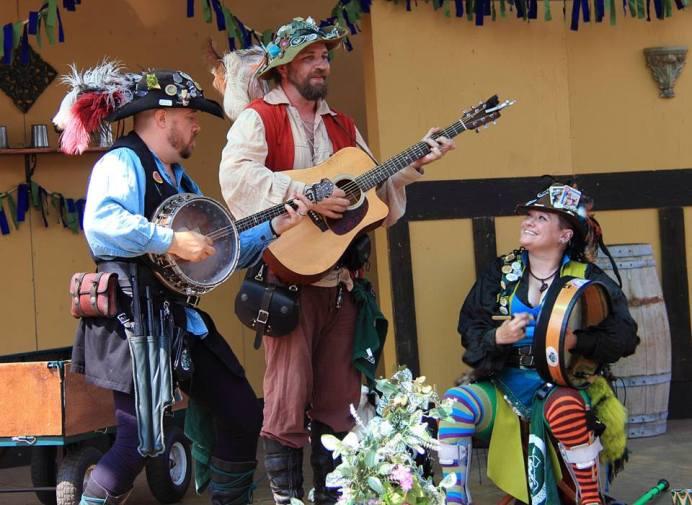 Washington Midsummer Renaissance Faire BOWI celtic group
