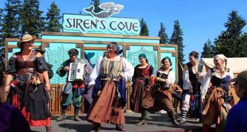Washington Midsummer Renaissance Faire pirate entertainment