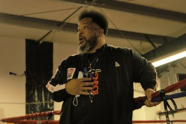 TCPAL Coach Lydell Spry Olympia gym removation surprise