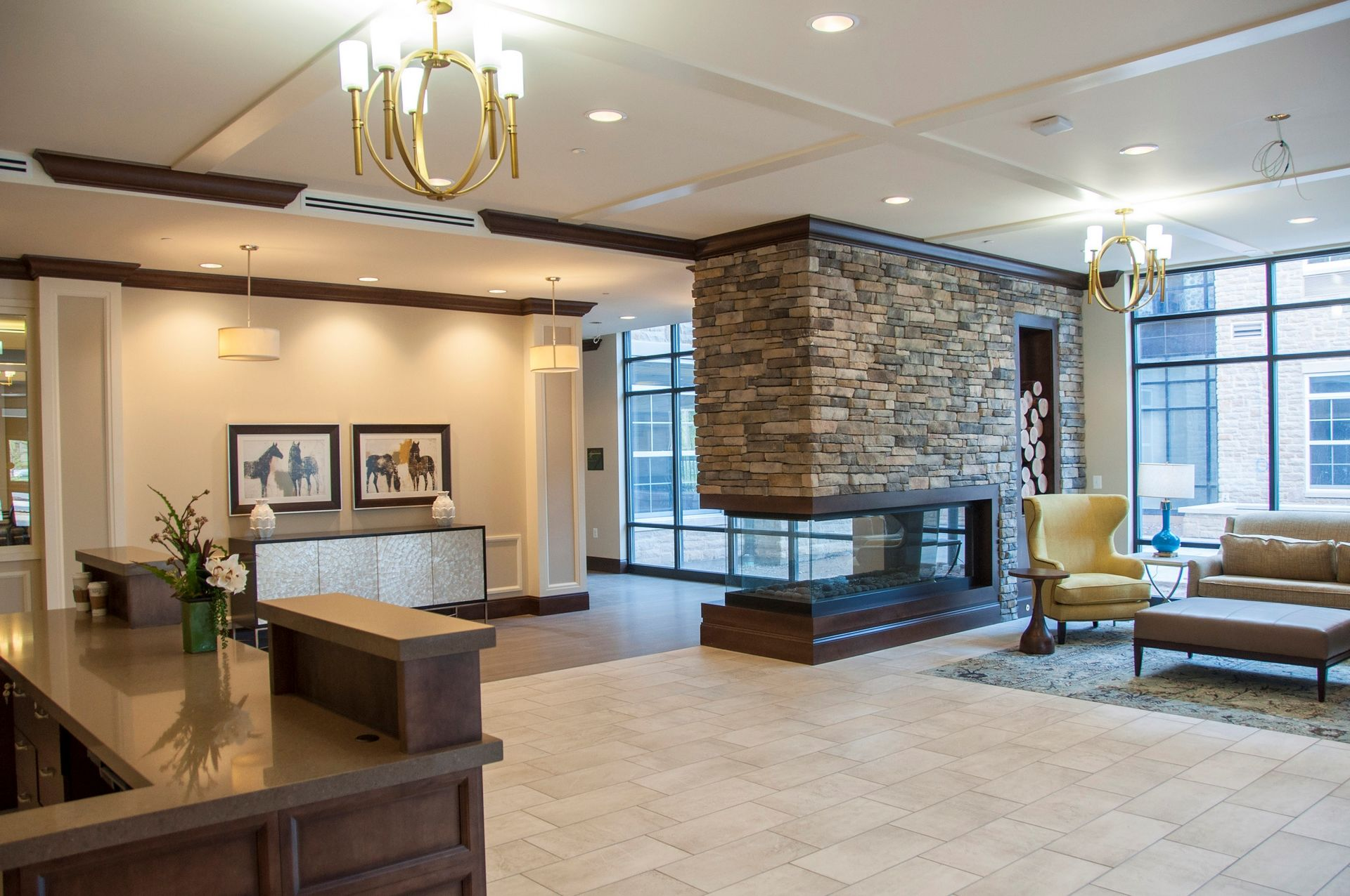 Tribute at Heritage Village Gainesville VA  Assisted Living  THW Design