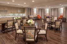 Senior Living Dining Room Design