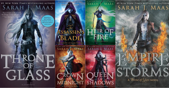 Image result for sarah j maas series
