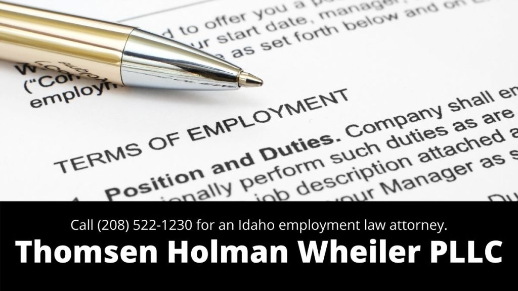 employment-law-in-Idaho-Falls