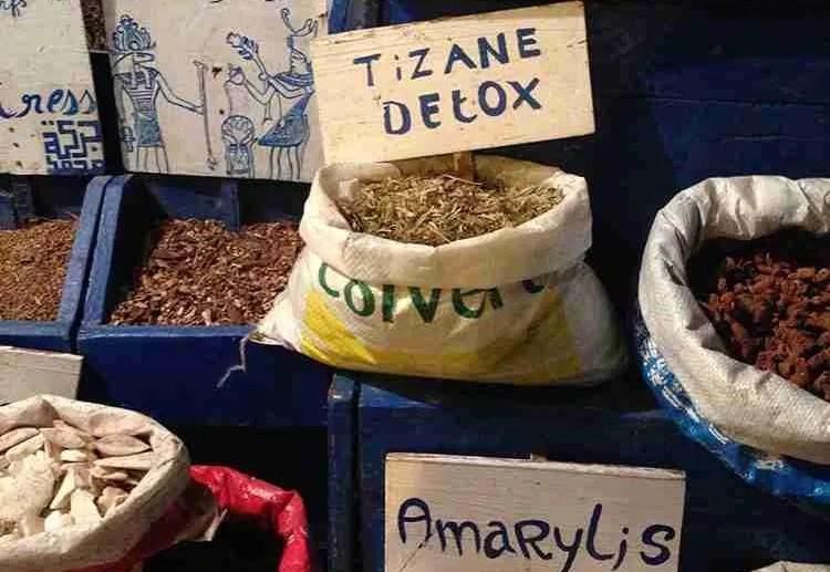 Hot infusion herbal tea