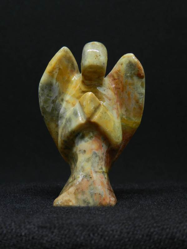 Close up of Agate angel