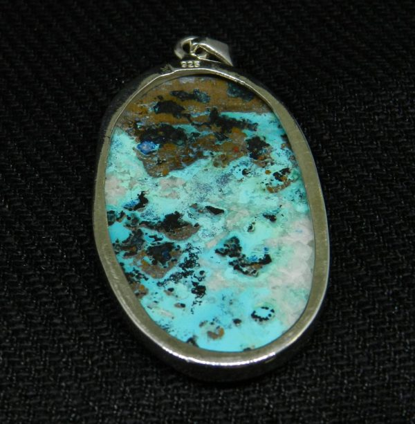 Close up image of Shattuckite Pendant