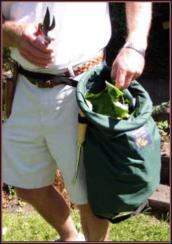 Hollow Leg Garden Bag