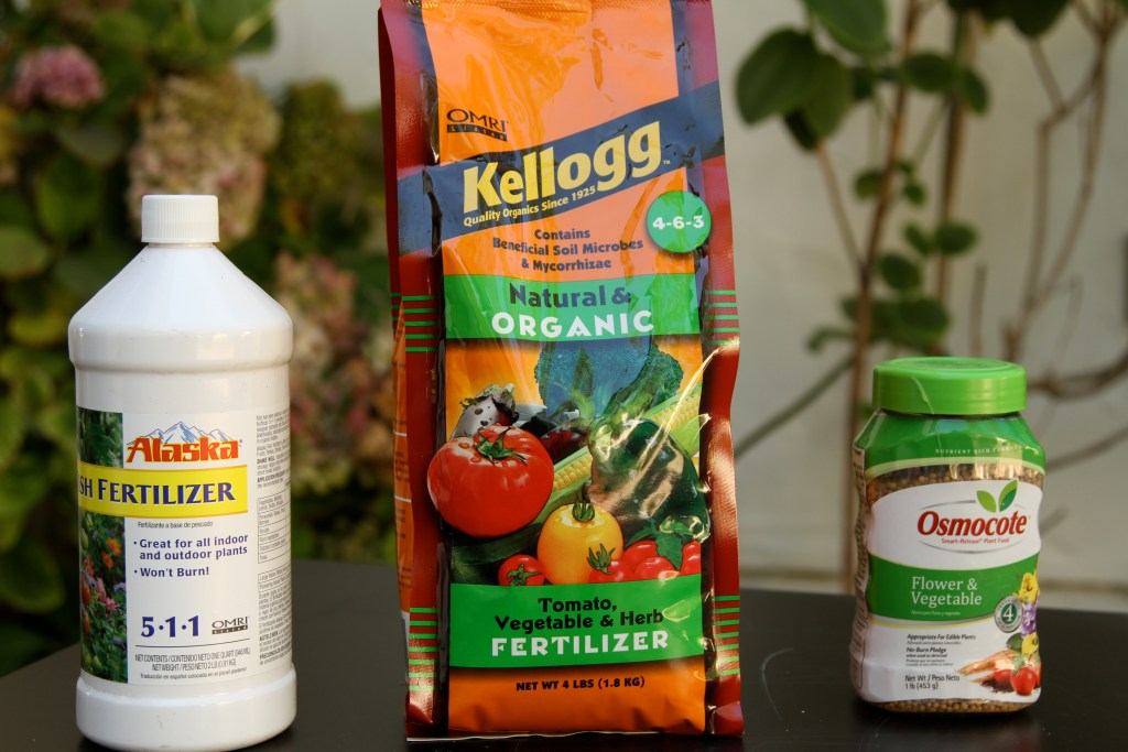 Plant fertilizers
