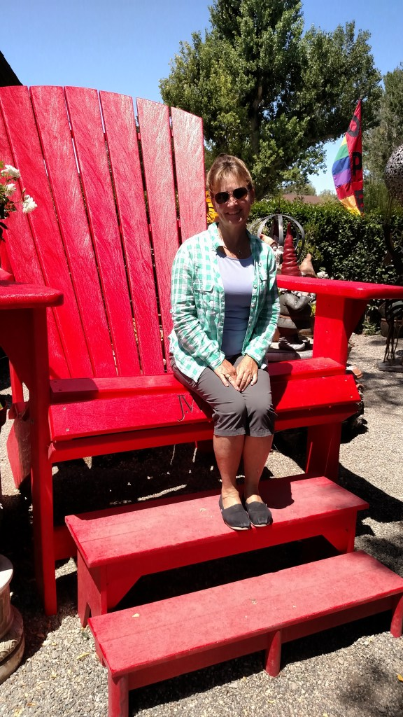 Giant adirondack chair