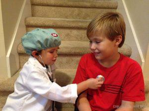 battling child's fear of doctors