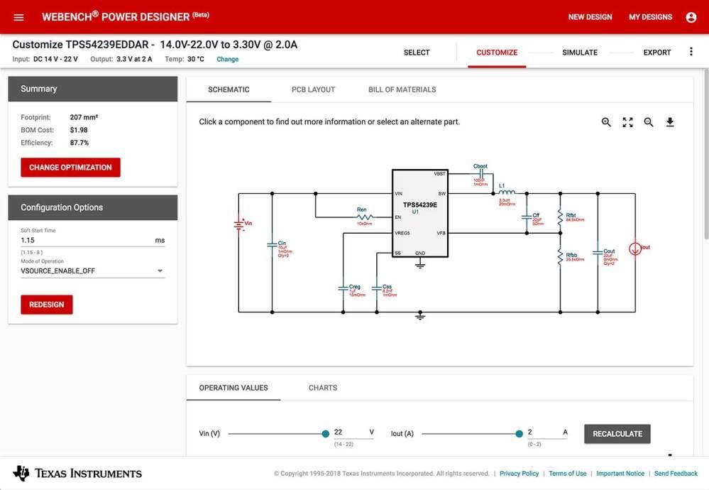 medium resolution of webench power designer simulate