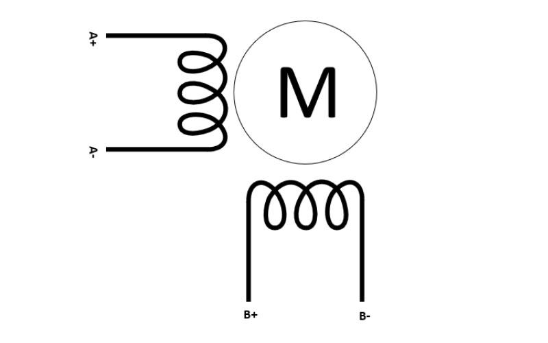 Drive unipolar stepper motors as bipolar stepper motors