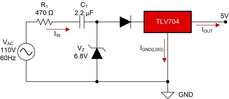 To Dc Power Supply Circuit Using Dropping Capacitor Circuits Gallery