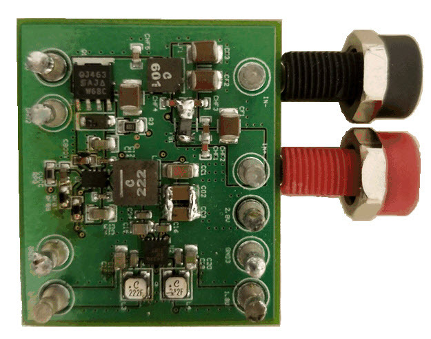Ultra Low Drop Linear Voltage Regulator Simple Schematic Diagram