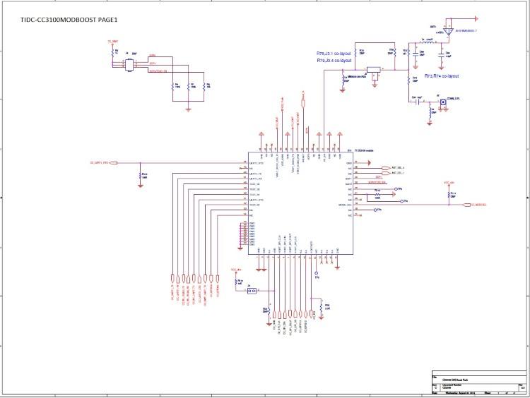 TIDC-CC3100MODBOOST SimpleLink™ Wi-Fi® CC3100 Module