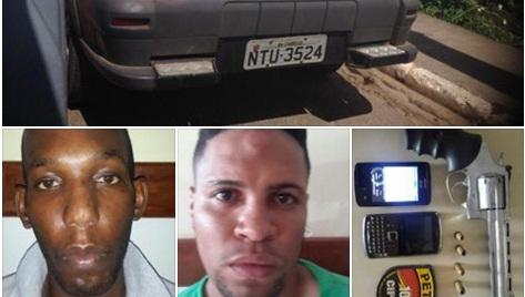 Dois ladrões de carros são presos em São Sebastião do Passé