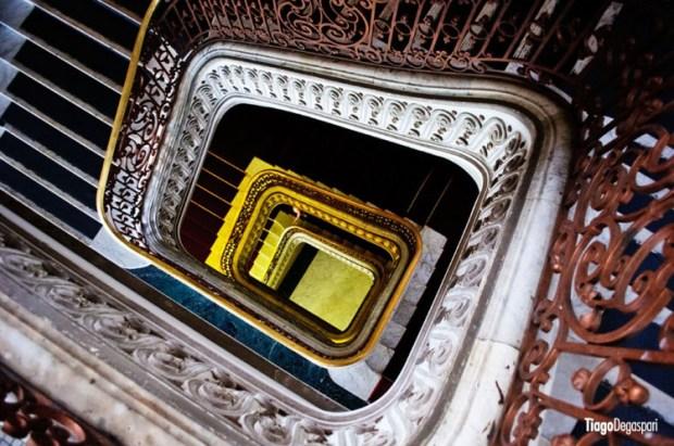 Escadaria em Santos-SP | © Tiago Degaspari