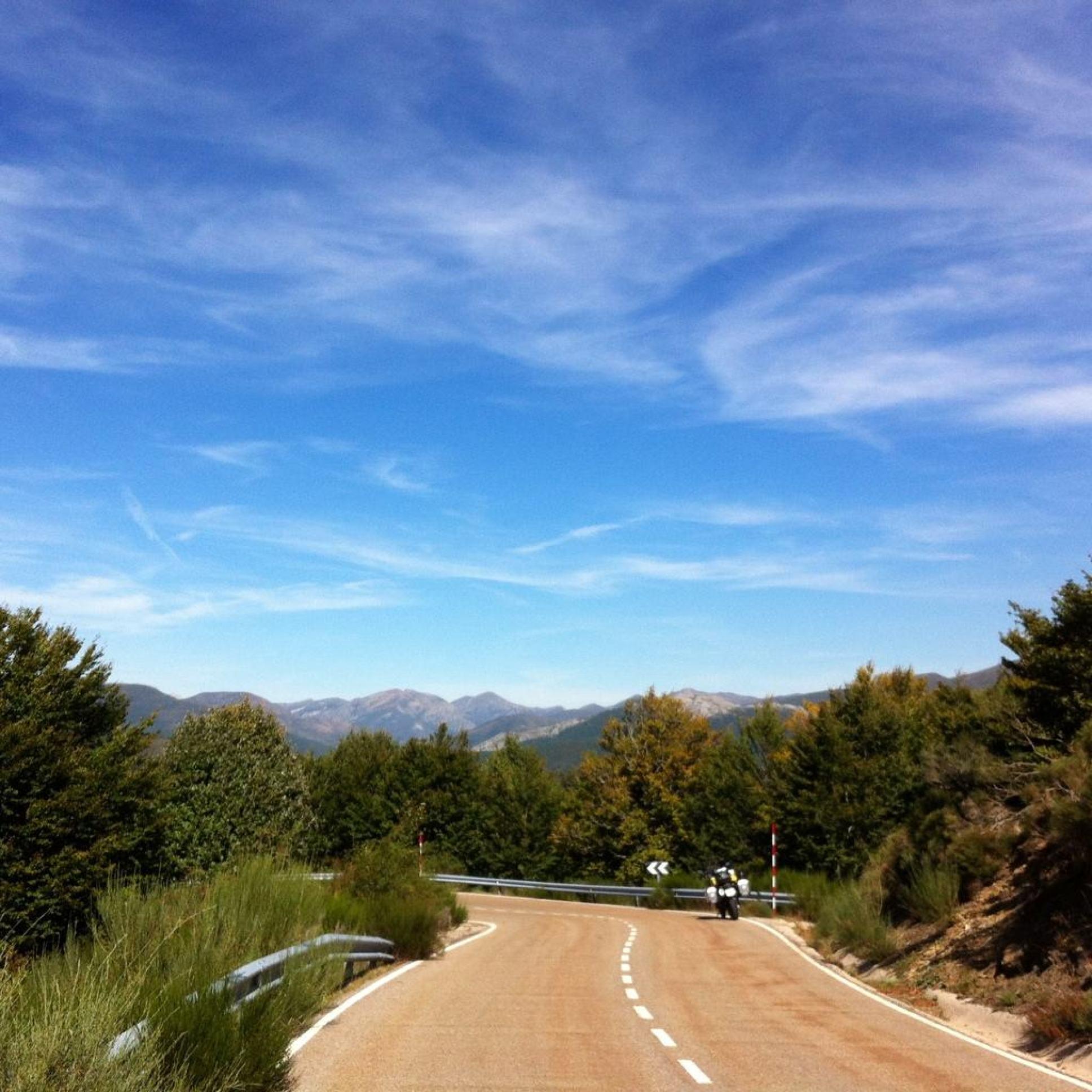 A caminho dos Picos da Europa
